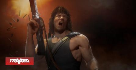 Mortal Kombat presenta a Rambo y anuncia su llegada a PS5 y Xbox Series