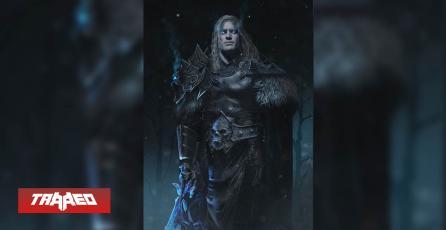 Así se vería Henry Cavill como Arthas de Warcraft