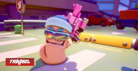 El Battle Royale de Worms llegará en diciembre a PC, PS4 Y PS5