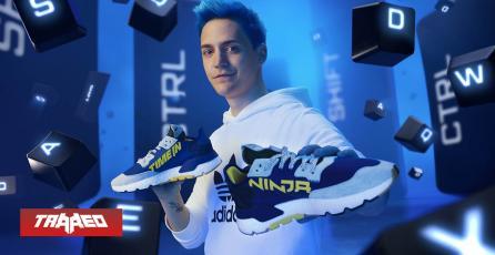 Ninja saca junto a Adidas su propia colección de zapatillas