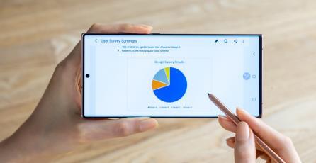 Cómo mejorar la productividad móvil usando Microsoft 365 y Samsung