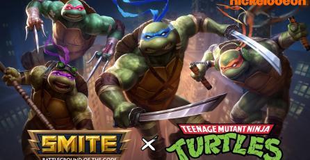 Tortugas Ninja x Smite - Trailer Oficial