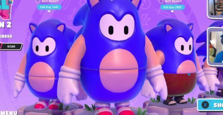 <em>Fall Guys</em>: la skin de <em>Sonic the Hedgehog</em> ya es oficial y no te saldrá barata