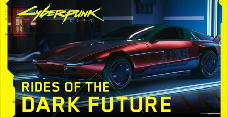 <em>Cyberpunk 2077</em> - Rides of the Dark Future