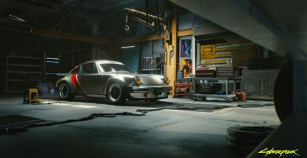 <em>Cyberpunk 2077</em> x The 911 Turbo
