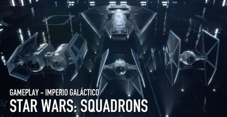 <em>STAR WARS: Squadrons</em> - Gameplay del Imperio Galáctico