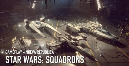 <em>STAR WARS: Squadrons</em> - Gameplay de la Nueva República