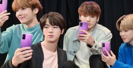 """""""A Piece of Cake"""" es la nueva colaboracion de Samsung y BTS"""