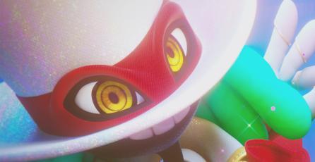Así de colorida y fantástica es la secuencia de inicio de <em>Balan Wonderworld</em>