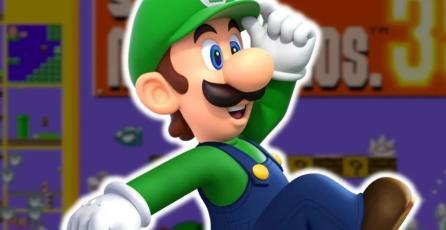 Luigi es un personaje jugable en <em>Super Mario Bros. 35</em> y así puedes tenerlo