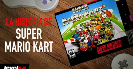 La historia detrás de: <em>Super Mario Kart</em>