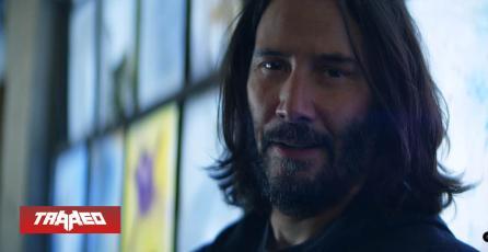 """Keanu Reeves anuncia en nuevo comercial que Cyberpunk 2077 """"es lo que estás buscando"""""""