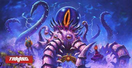 Regresan los dioses antiguos con Locura en la Feria de la Luna Negra en Hearthstone