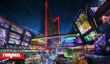 Los diseños para los hoteles de Atari lucen muy Cyberpunk