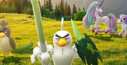 <em>Pokémon GO</em> festeja el debut de <em>The Crown Tundra</em> con la adición de nuevos Pokémon