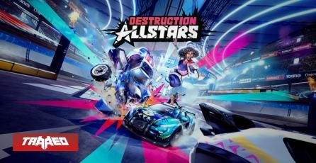 """Destruction AllStars ya no será título de lanzamiento para PS5 y llegará """"gratis"""" en febrero de 2021"""
