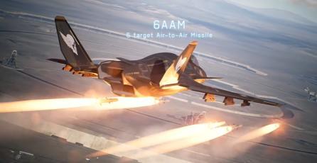 """ACE COMBAT 7 - Tráiler DLC 25 Aniversario """"Original Aircraft Series"""""""