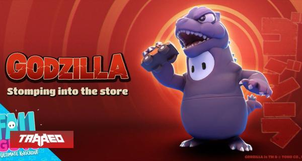 Skin de Godzilla llegará a Fall Guys la próxima semana