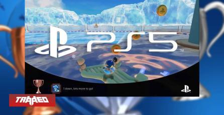 PS5 grabará automáticamente los momentos en que ganes un trofeo