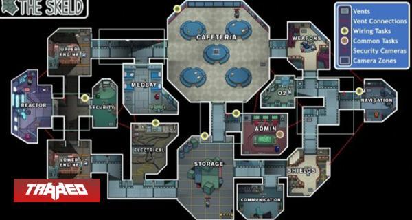 El siguiente mapa de Among Us será el más grande del juego