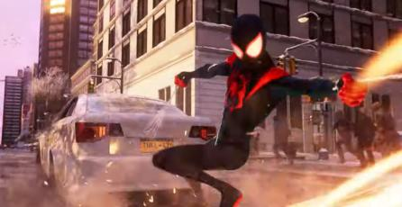 """Marvel's Spider-Man: Miles Morales - Anuncio de Traje inspirado en """"Spider-Man: Into the Spider-Verse"""""""