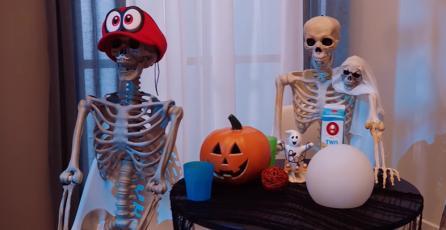 "Mario Kart Live: Home Circuit - Tráiler ""Spooky Race"""