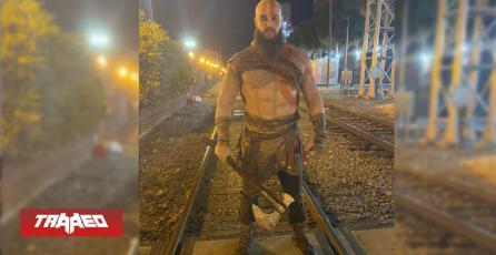 Braun Strowman de la WWE se disfrazó de Kratos para Halloween