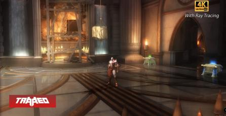 Así luce God of War 2 y Prince of Persia: The Sands of Time en 4K y Ray Tracing