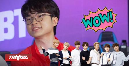 "¿Faker a K/DA?: El midlaner coreano la rompe cantando ""IDOL"" de BTS"