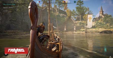 Ubisoft nos muestra nuevo gameplay de AC: Valhalla corriendo en Xbox Series X a 4K