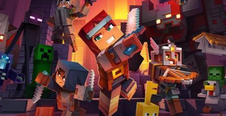 El cross-play de <em>Minecraft Dungeons</em> llegará muy pronto