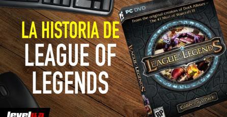 La historia detrás de <em>League of Legends</em>