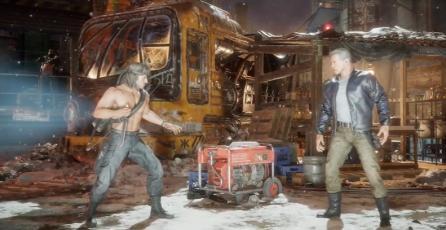"Mortal Kombat 11 Ultimate - Tráiler ""Rambo vs. Terminator (Round 1)"""