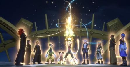 Kingdom Hearts: Melody of Memory - Tráiler de Lanzamiento | Nintendo Switch