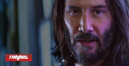 Multiverso: Keanu Reeves (actor) sí existe en canon de Cyberpunk 2077