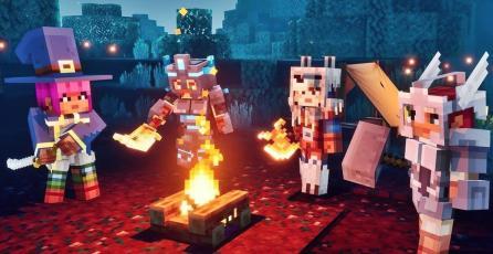 <em>Minecraft Dungeons </em>ya tiene cross-play y podría recibir cross-save