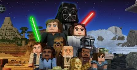 <em>Minecraft</em> recibió un genial DLC de <em>Star Wars</em> y <em>The Mandalorian</em>