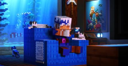 "Minecraft Dungeons - Tráiler ""Cross-platform Play"""