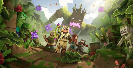 Explican por qué el cross-play tardó tanto en llegar a <em>Minecraft Dungeons</em>