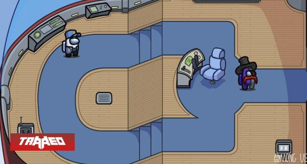 Un pequeño vistazo al nuevo mapa de Club Penguin, digo Among Us
