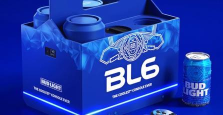 Bud Light revela la BL6, una consola que permitirá jugar y mantener cervezas frías