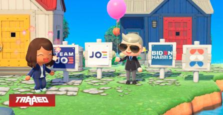 Nintendo no permitirá más campañas políticas en Animal Crossing: New Horizons
