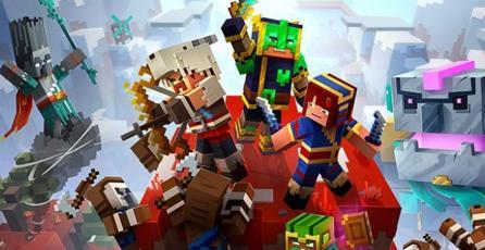 <em>Howling Peak</em>, el nuevo DLC de <em>Minecraft Dungeons</em>, ya tiene fecha