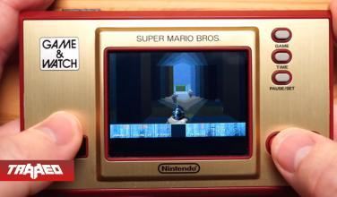 Otra a la lista: Corren DOOM en Game & Watch de Super Mario