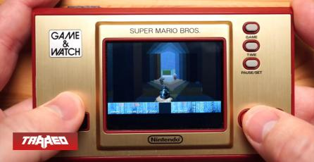 Otra a la lista: Corren DOOM en Game & Watch de Super Mario