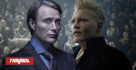 Es oficial: Mads Mikkelsen sustituirá a Johnny Depp como Grindewald en Animales Fantásticos 3
