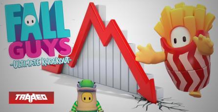 La caída de Fall Guys: el juego pasa de más de 172.000 jugadores en Steam a menos de 7.000