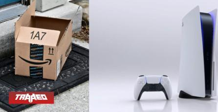 Repartidor de Amazon se robó una PS5 que tenía que entregar y quedó en video