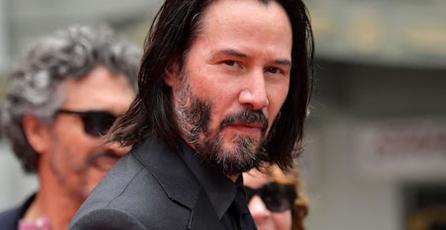 Keanu Reeves ya está jugando <em>Cyberpunk 2077</em> y le está encantando