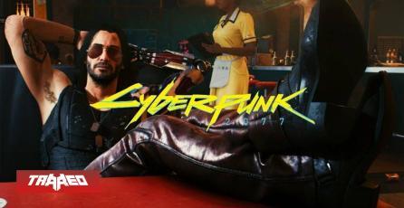 Keanu Reeves ya jugó Cyberpunk 2077 y le encanta